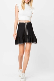storia White Trim Skirt - Product Mini Image