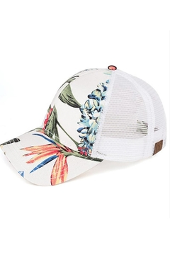 Shoptiques Product: White Tropical Hat