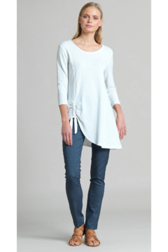 Clara Sunwoo White Tunic Side Elastic - Product List Image