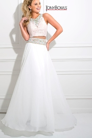 Tony Bowls White Two Piece - Front cropped