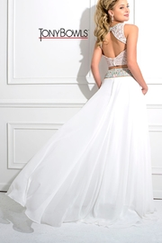 Tony Bowls White Two Piece - Front full body
