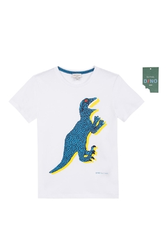 Paul Smith Junior White 'Tyrell' T.Shirt - Product List Image