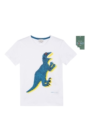 Paul Smith Junior White 'Tyrell' T.Shirt - Front cropped