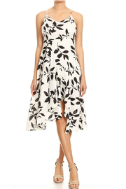 Ina White Vine Dress - Product Mini Image
