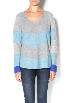 White + Warren Color Block Sweater - Product List Image