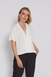 another love  WHITE WESTON 3 BUTTON Top - Product Mini Image