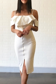 Shoptiques Product: White Zipper Dress