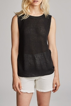 White + Warren Sleeveless Crew Neck Top - Alternate List Image
