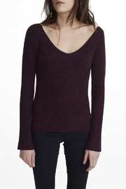 White + Warren Cashmere V Neck Sweater - Front cropped