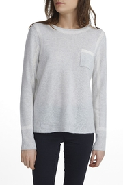 White + Warren Cashmere Framed Top - Front cropped