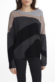 White + Warren Cashmere Crew Neck Sweater - Front cropped
