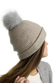 White + Warren Cashmere Pom Pom Beanie - Product Mini Image