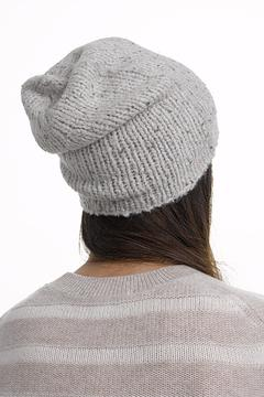 White + Warren Cashmere Rib Beanie - Product List Image