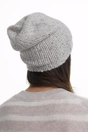 White + Warren Cashmere Rib Beanie - Product Mini Image