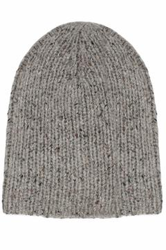 White + Warren Cashmere Rib Beanie - Alternate List Image