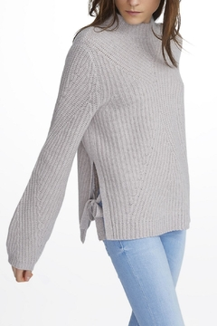 White + Warren Cashmere Mock Neck Sweater - Alternate List Image