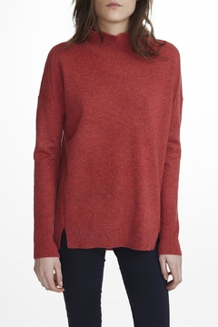 White + Warren Cashmere Standneck Sweater - Alternate List Image