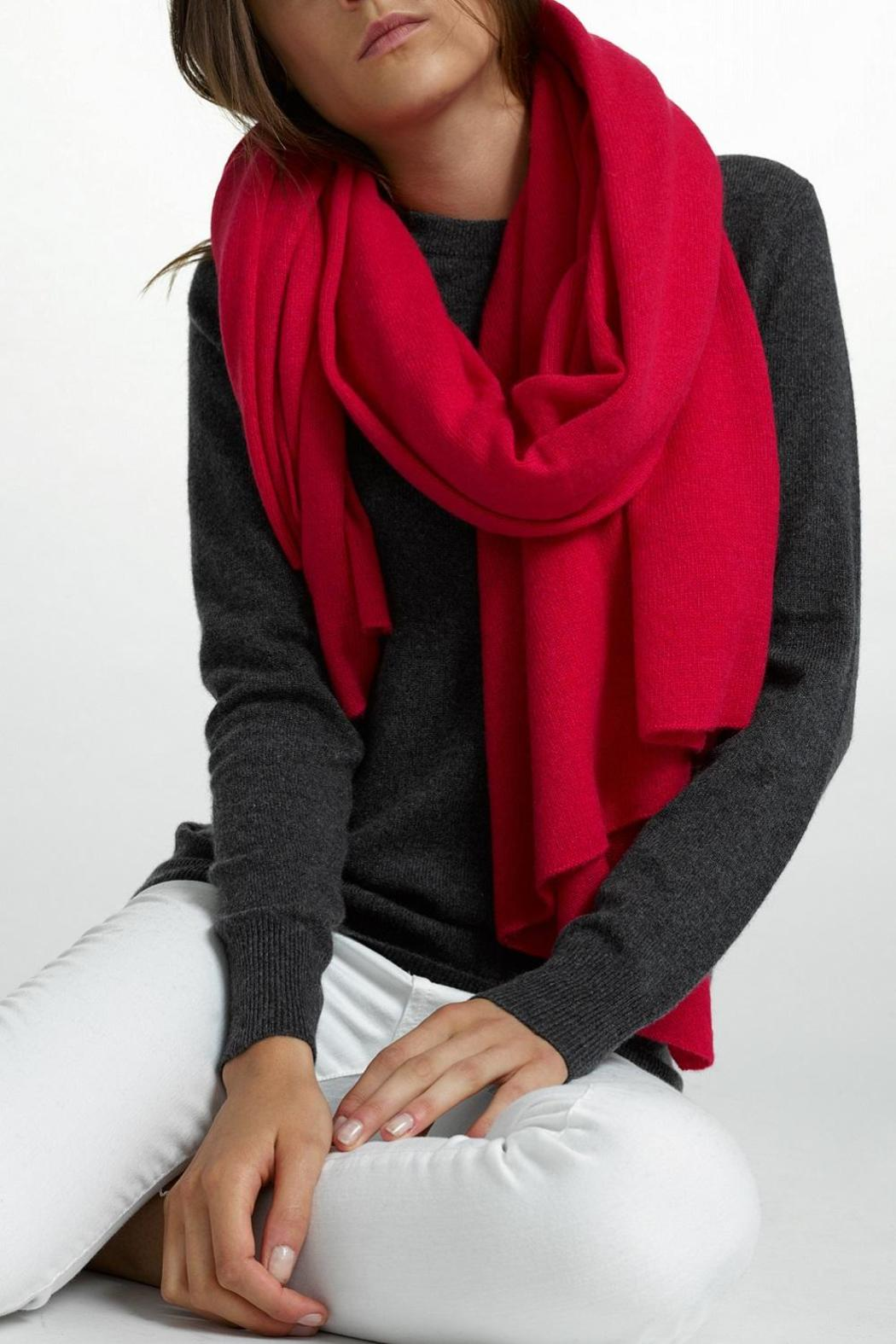 White + Warren Cashmere Travel Wrap - Front Cropped Image