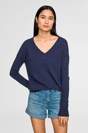 White + Warren Cashmere V-Neck Sweater - Product Mini Image