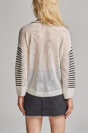 White + Warren Cashmere Crew Neck Sweater - Front full body