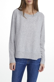 White + Warren Essential Cashmere Sweatshirt - Front cropped