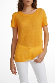 White + Warren Featherweight Cashmere Tee - Product Mini Image