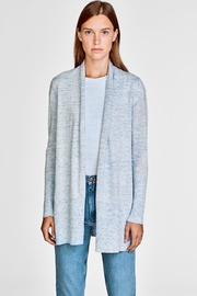 White + Warren High Rib Cardigan - Product Mini Image