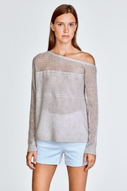White + Warren Off Shoulder Sweater - Product Mini Image