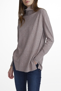 White + Warren Raglan Turtle Neck Sweater - Alternate List Image