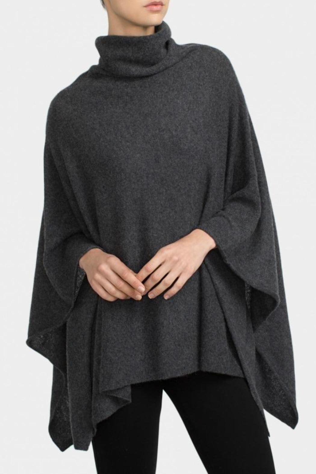 White and Warren Cashmere Funnelneck Poncho from Florida ...