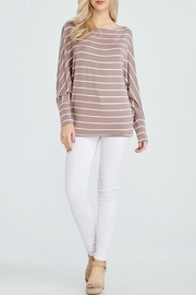White Birch Claire Dolman Top - Side cropped