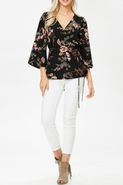 White Birch Floral Kimono Top - Product Mini Image