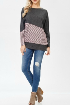 Shoptiques Product: Striped Sweater Love
