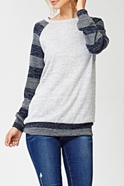 White Birch The Celina Top - Side cropped