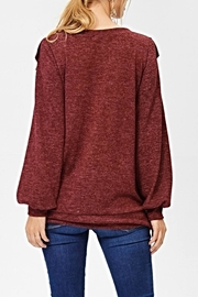White Birch The Kaia Sweater - Side cropped