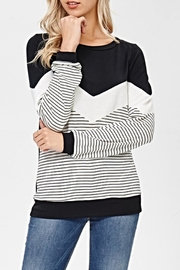 White Birch The Penelope Top - Front cropped