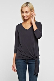 White Birch Vtie Top - Front cropped