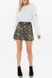 White Crow Battlefield Camo Skirt - Back cropped