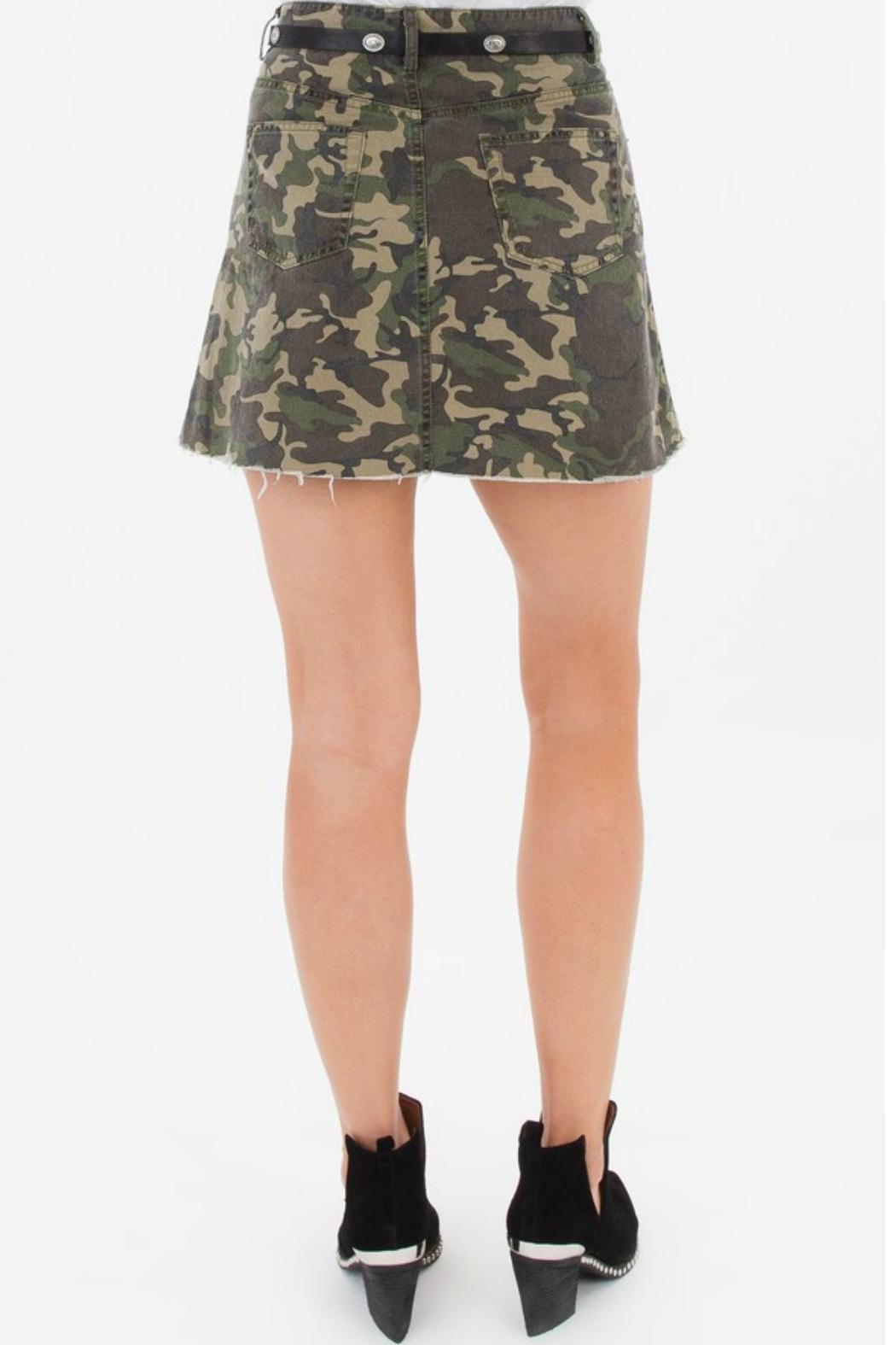 White Crow Battlefield Camo Skirt - Side Cropped Image