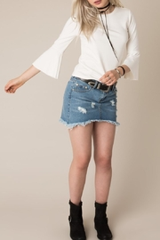 White Crow Bell Sleeve Top - Product Mini Image