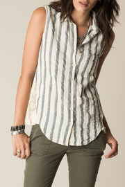 White Crow Bonita Stripe Tank - Product Mini Image