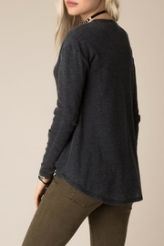 White Crow Burnout Thermal Top - Front full body