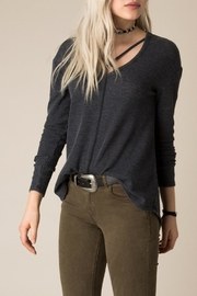 White Crow Burnout Thermal Top - Side cropped