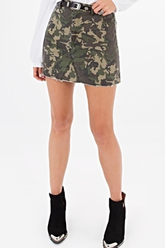 Shoptiques Product: Camo Skirt