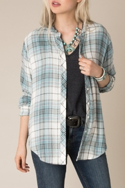 White Crow Checkmate Plaid Shirt - Front full body
