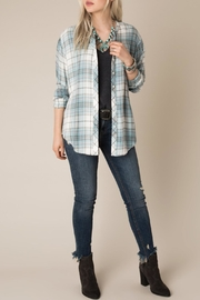 White Crow Checkmate Plaid Shirt - Back cropped