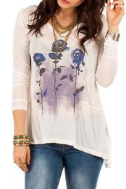 White Crow Cloud Dancer Top - Front cropped