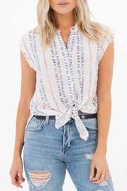 White Crow Drify Away Top - Front cropped