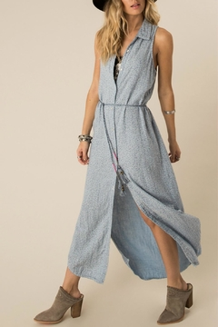 Shoptiques Product: Dusted Chambray Dress