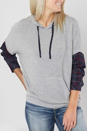 White Crow Belling Hoodie - Product Mini Image